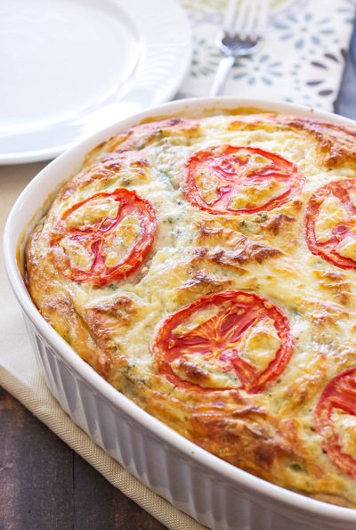 Make-Ahead Vegetable Quiche