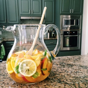 Texas Peach Sangria