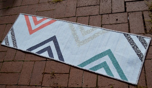 Peaks and Valleys Table Runner