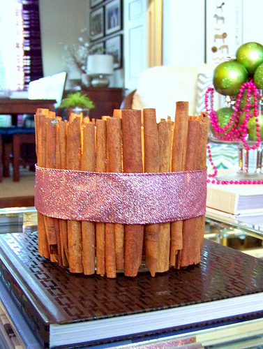 Spicy Cinnamon DIY Candle Holders