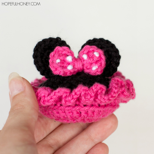 09bb3558f7182 Minnie Mouse Inspired Baby Booties