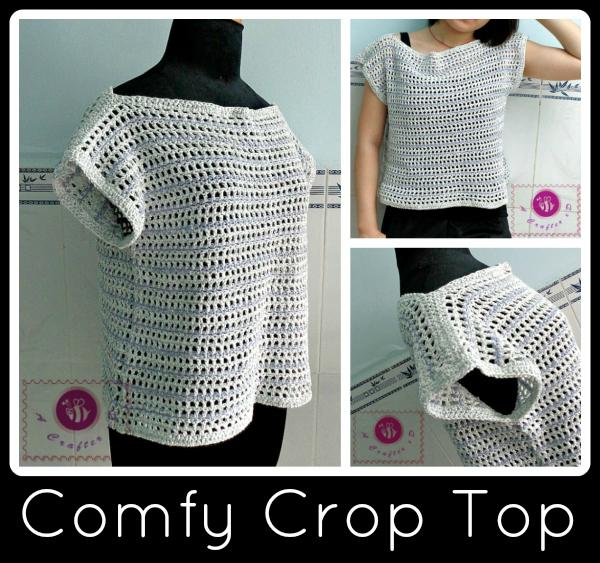 Comfy Crochet Crop Top Allfreecrochet Com