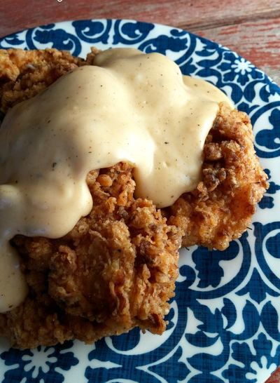 Country Fried Chicken with Milk Gravy