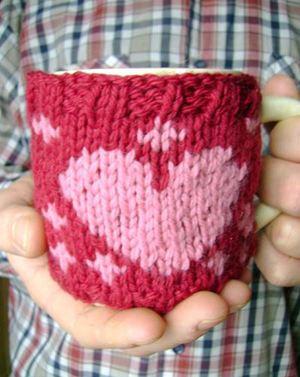 Valentine Mug Cozy