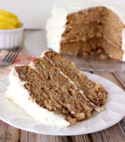 Old Fashioned Southern Carrot Cake