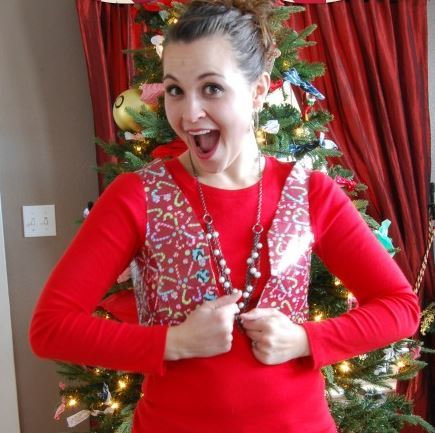 Duct Tape Ugly Sweater Vest