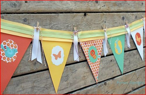Fun and Colorful DIY Paper Banner
