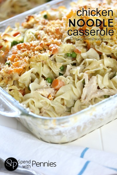 Chicken Noodle Casserole from Scratch