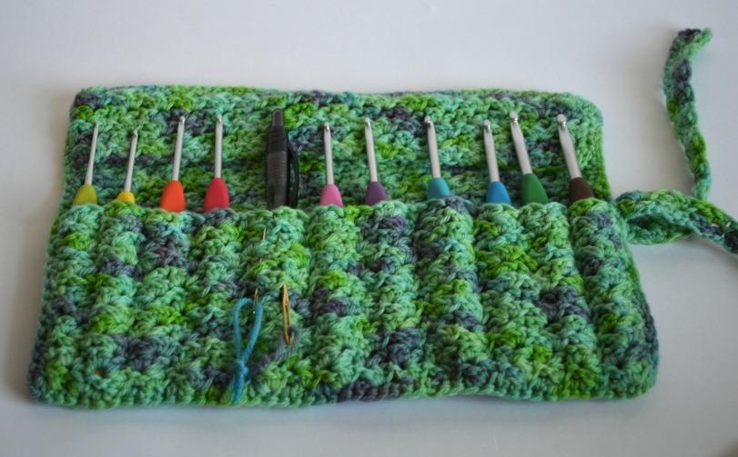 Free Crochet Pattern Hook Case : Crocheted Crochet Hook Case AllFreeCrochet.com