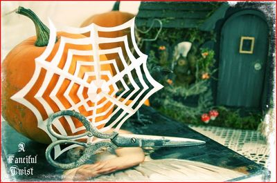 Wickedly Wonderful Paper Spider Webs