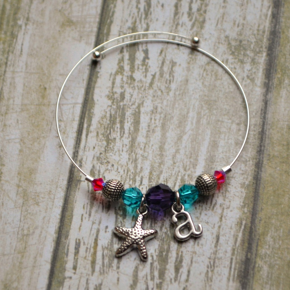 Wire Bracelets With Charms 2