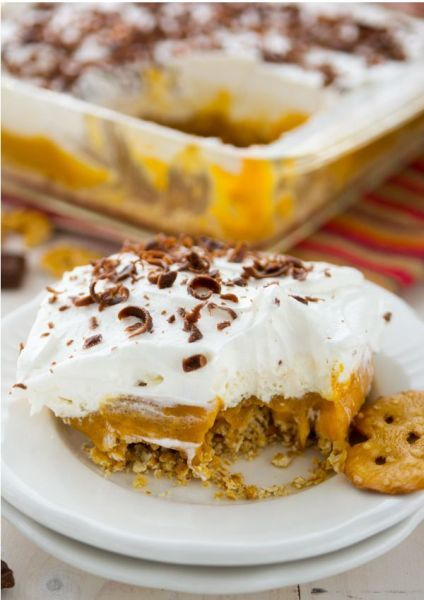 No Bake Pumpkin Lush