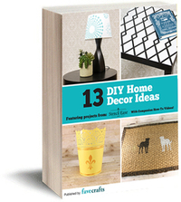 13 DIY Home Decor Ideas