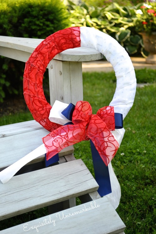 Perfectly Patriotic DIY Wreath