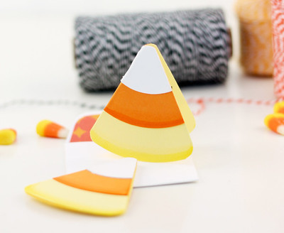 Sweet and Simple DIY Candy Corn Card