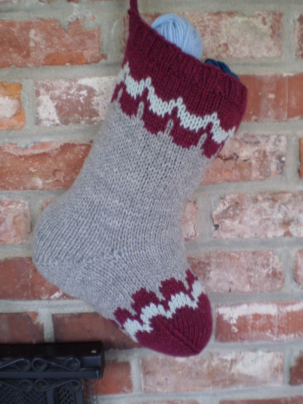 Scalloped Christmas Stocking Pattern