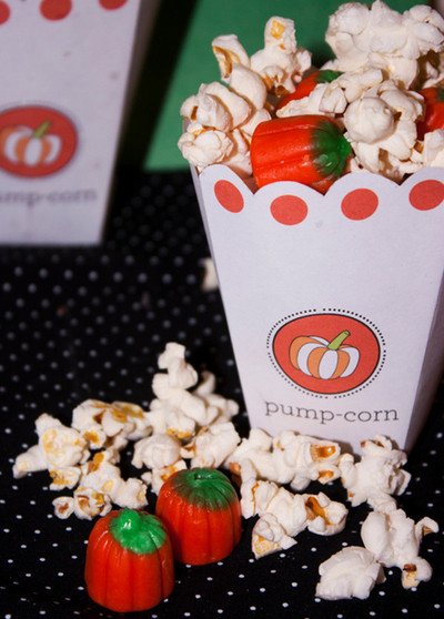 Scrumptious Pumpcorn Free Box Template