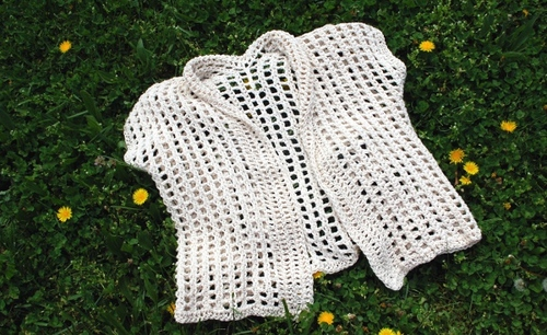 Light Crochet Cardigan