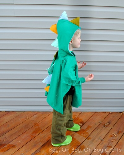 DIY Dragon Dress-Up Costume