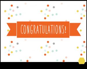 photo regarding Printable Congratulations Card identified as Printable Congratulations Card
