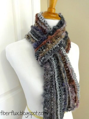 One Skein Enchanted Crochet Scarf