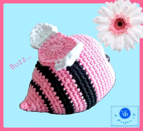 Phoebee the Bumblebee amigurumi pattern - Amigurumipatterns.net | 460x500