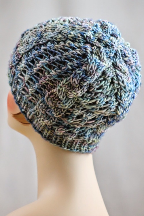Spring Shadows Braid Cable Hat