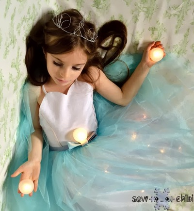 Fairy Light Princess Dress