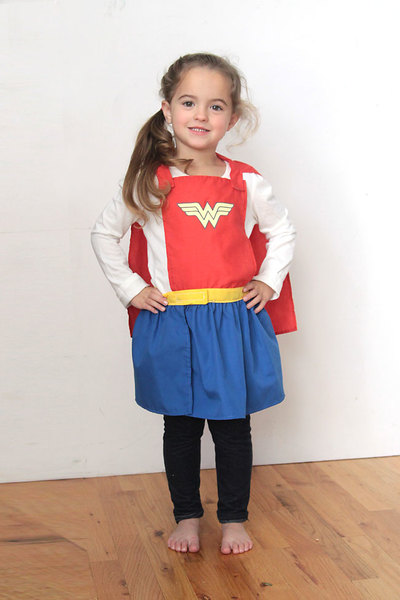 Superhero Cape and Skirt