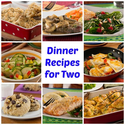 Easy healthy lunch recipes for two