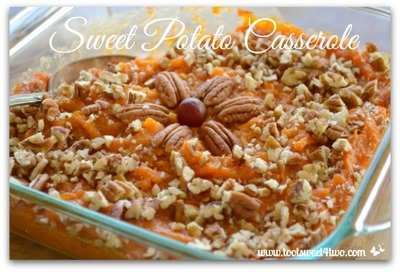 Festive Sweet Potato Casserole