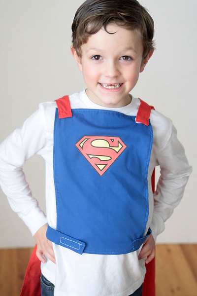 No-Choke Superhero Cape Pattern