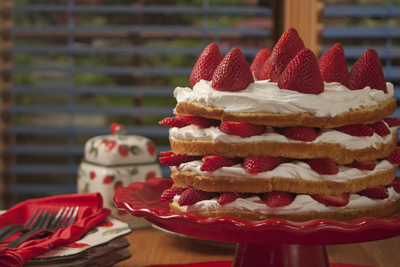 All-American Strawberry Layer Cake
