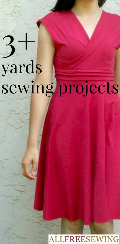 3+ Yards Sewing Projects
