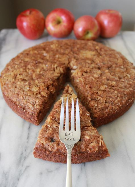 Secretly Healthy Apple Cake