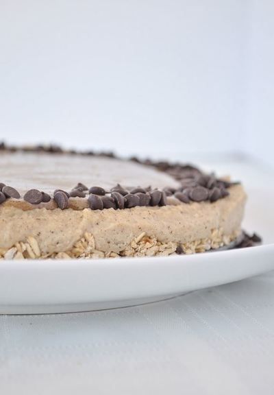 Salted Caramel Vegan Cheesecake
