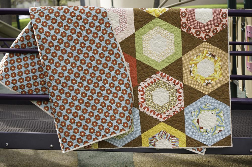 Boho Honeycomb Hexagon Quilt Favequilts Com