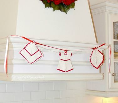 Charming Christmas Kitchen Banner
