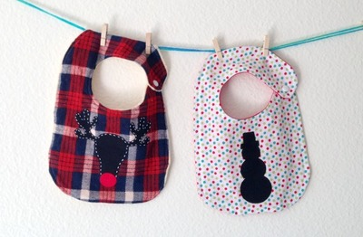 Cute Christmas Baby Bib Patterns