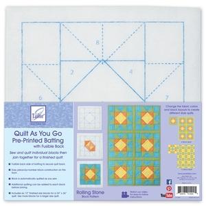 Quilt As You Go Pre-Printed Batting