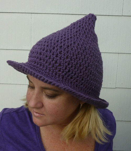 Mother Goose Crochet Hat
