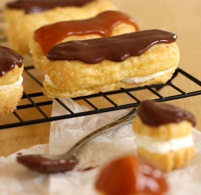Simple Cream Puffs and Eclairs