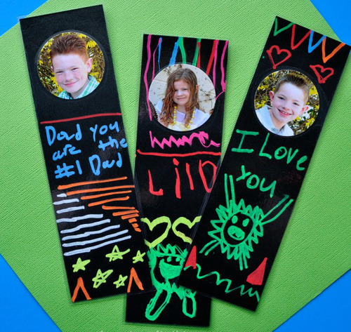 Fathers Day Picture Bookmark
