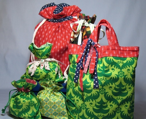 Reusable Fabric Gift Bags Allfreesewing Com
