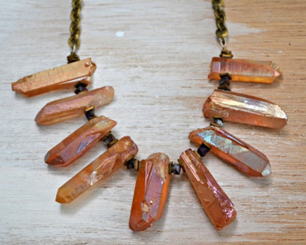 Stunning Quartz Layering DIY Necklace
