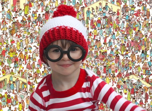 7efdc90ec Where's Waldo Crochet Hat | AllFreeCrochet.com