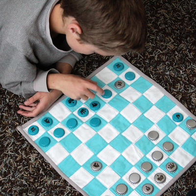 Quilted Kids Chess Set