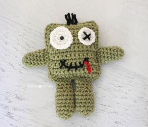 Friendly Crochet Zombie Doll
