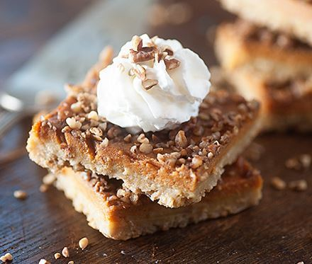 Best Pumpkin Pecan Pie Bars