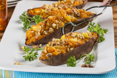 EDR Pineapple Stuffed Sweet Potatoes